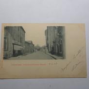07 - JOYEUSE - Vue De La Grande Route En 1903 - France