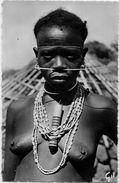 CPSM Guinée Nu Féminin Ethnic Femme Nue Non Circulé GIL 37 - Guinée Française