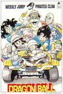 MANGA * Carte Prépayée Japon * WEEKLY JUMP (15.109) CARD JAPAN * MOVIE * FILM * ANIME * CINEMA - Film