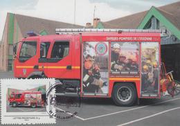 Carte  Maximum    Sapeurs - Pompiers    De   L'  ESSONNE     La   VILLE - DU - BOIS   2011 - Sapeurs-Pompiers