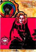 CPM Jihel Tirage Signé Numéroté En 30 Exemplaires PELADAN Série Marilyn Satanique RARE Rose Croix - Filosofia & Pensatori