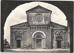 X602 Tuscania (Viterbo) - Basilica Di San Pietro - La Facciata / Non Viaggiata - Altre Città