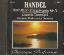 CD    Handel  - Concerto Grosso Op 14  &  Op 6  Par European Philharmonic Orchestra   Avec  13  Titres - Klassik