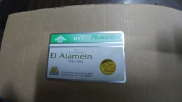 United Kingdom-(bto009)-el Alamein Annivers$25(5units)-(371e)-tirage-4.200-mint+1card Prepiad Free-(price Cataloge-3.00£ - United Kingdom