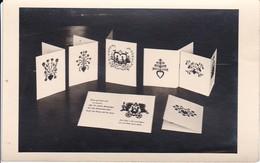 Foto Scherenschnittkarten - Ca. 1950 (31256) - Scherenschnitte