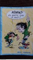 CPM GASTON LAGAFFE HOMMAGE A ANDRE FRANQUIN 1924 1997 ED DALIX CA GAFFE DUR LA HAUT - Comics