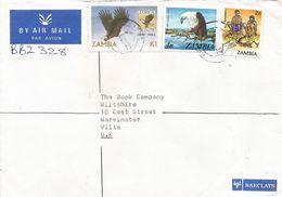 Zambia 1982 Kafua Fish Eagle Scouting Barclays Registered Cover - Zambia (1965-...)