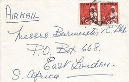 Zambia 1976 Lusaka Cotton Cover - Zambia (1965-...)