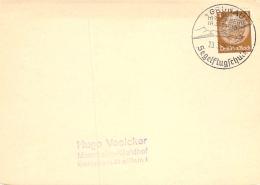 SST Grünau über Hirschberg (Riesengebirge) Segelflugschule 1938 - Allemagne
