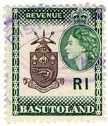 (I.B) Basutoland Revenue : Duty Stamp R1 - Zonder Classificatie