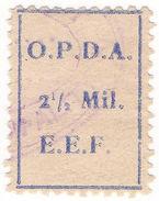 (I.B) Palestine Revenue : Ottoman Public Debt 2½m (OPDA) - Palestine