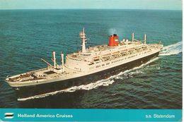 CPA-1974-PAQUEBOT-STATENDAM-NEWLY REBUILT-CIE HOLLAND AMERICA CRUISES-TBE - Piroscafi