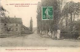 SAINT OUEN SUR MORIN ROUTE DE CHARNESSEUIL - Other Municipalities