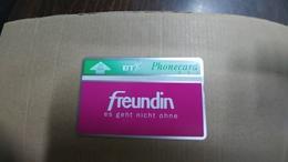 United Kingdom-(bto025)-freundin-(20units)(322k)-tirage-4.050-mint+1card Prepiad Free-(price Cataloge-5.00£ - United Kingdom