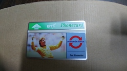 United Kingdom-(bto031)-toni Schumacher2-(5units)(324h)-tirage-5.000-mint+1card Prepiad Free-(price Cataloge-6.00£ - BT Overseas Issues