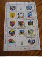 NOUVELLE CALEDONIE YVERT POSTE ORDINAIRE N° 641/653 NEUFS** LUXE EN FEUILLE - MNH - FACIALE 7,63 EUROS - Nueva Caledonia