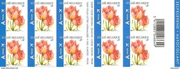 BELGIUM, 2008, Booklet 82, Flower: Tulip, 10xA, Mi 3768 - Booklets 1953-....