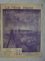 Ancienne Partition LE RÊVE PASSE Par Ch. Helmer & G. Krier 1918 - Instruments à Clavier