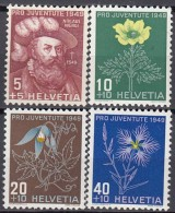 SCHWEIZ  541-544, Postfrisch **, Pro Juventute 1948 - Pro Juventute