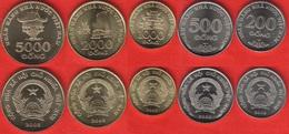 Vietnam Set Of 5 Coins: 200 - 5000 Dong 2003 UNC - Viêt-Nam