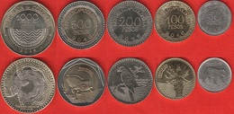 Colombia Set Of 5 Coins: 50 - 1000 Pesos 2016 UNC - Colombia