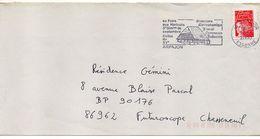 """Flamme --2000--ARPAJON--91 """"Halles-Foire Aux Haricots,concours Gastronomique """"-- Type Marianne Luquet...à Saisir - Postmark Collection (Covers)"""