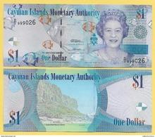 Cayman Islands 1 DollarP-38 2010 UNC - Cayman Islands