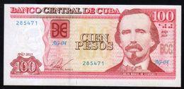 CARIBE / 100 PESOS 2013  Serie AG-04 285471 UNC - Cuba