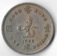 Hong Kong 1960H $1 [C668/2D] - Hong Kong