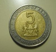 Kenya 5 Shillings 1997 - Kenya