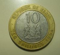Kenya 10 Shillings 1994 - Kenya