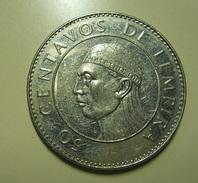 Honduras 50 Centavos De Lempira 1991 - Honduras