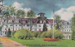 Pennsylvania Mountain House Onawa Lodge High In The Poconos