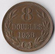 Guernsey 1938H 8 Doubles [C682/2D] - Guernsey