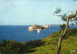 Carantec  Le Chateau Du Taureau Et L'ile Louet 1970 CPM Ou CPSM - Carantec