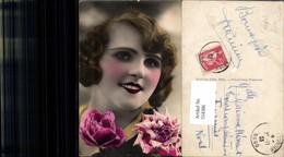 554386,tolle Foto-AK Frau Mode Portrait Art French Deco - Mode