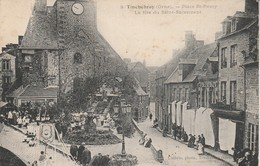 61 - TINCHEBRAY - Place St Rémy - La Fête Du Saint Sacrement - Autres Communes