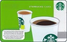 SVIZZERA GIFT CARD STARBUCKS CUPS 2012 - Gift Cards