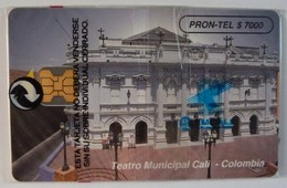 COLUMBIA - Chip - $7000 - Teatro Municipal Cali - 10/95 - Mint Blister - Colombia
