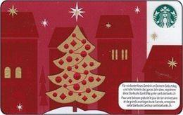 SVIZZERA GIFT CARD STARBUCKS     Christmas   2012 - Gift Cards