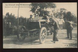 08 - LE CIRCUIT DES ARDENNES - FARMAN SUR VOITURE PANHARD-LEVASSOR - Autres Communes