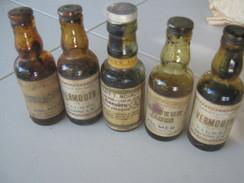 Lot De 5 Mignonettes - Miniatures