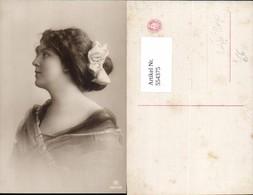 554375,tolle Foto-AK Frau Mode Portrait Haarschlaufe - Mode