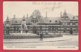 Vilvoorde / Vilvorde - Station Et Monument Portaels -1904 ( Verso Zien ) - Vilvoorde