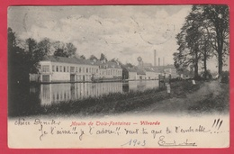 Vilvoorde / Vilvorde - Moulin De Trois-Fontaines -1903 ( Verso Zien ) - Vilvoorde