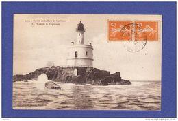 QUIBERON PHARE DE LA TEIGOUSE 1922 (TTB état) V2) - Quiberon