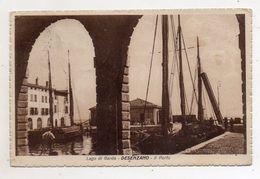 Desenzano (Brescia) - Il Porto - Viaggiata Nel 1929 - (FDC6006) - Brescia