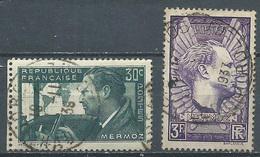 France YT N°337/338 Jean Mermoz Oblitéré ° - Used Stamps