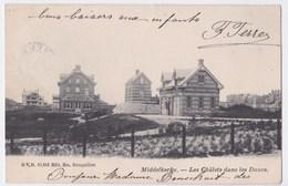 Middelkerke Cpa  Les Châlets Dans Les Dunes    Anno 1904, - Middelkerke