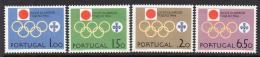 Portugal, 1964, Olympic Games Tokyo, Sports, MNH, Michel 968-971 - Non Classés